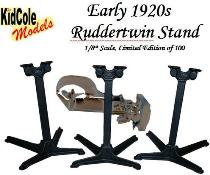 Ruddertwin Stands Box Label